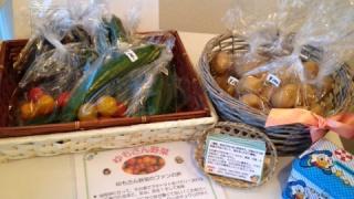 手作り野菜が届きました